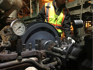 Turbine Repair Open and Close