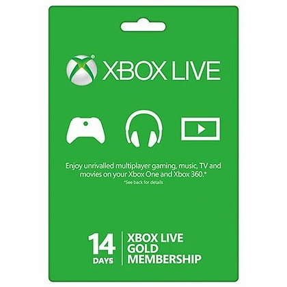 Xbox Live Gold Membership 14 days Trial US / EU / JP / KR