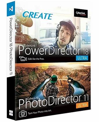 PowerDirector 18 Ultra & PhotoDirector 11 Ultra