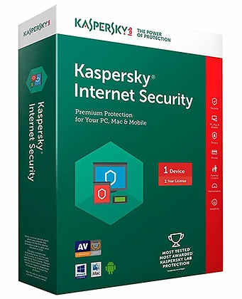 Kaspersky Internet Security 2020 - 3 Devices MD 1 Year