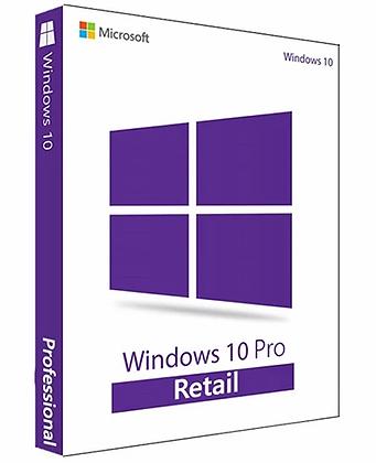 Microsoft Windows 10 Pro Retail KEY
