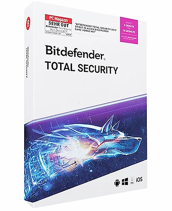 Bitdefender 2019 Total Security (3 PC -1 Year)