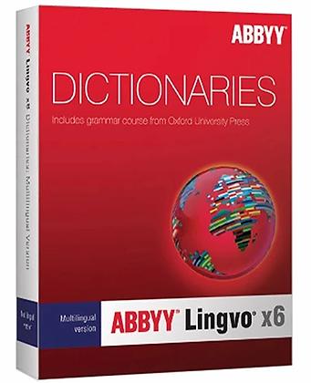 ABBYY Lingvo x6 Pro Multilingual /Windows