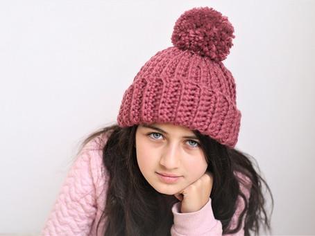 Short Rows Crochet Hat Pattern - Easy level