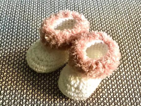 הוראות לסריגת נעלי בית לתינוק/ת 3-6 חודשים - לסורגים מתקדמים