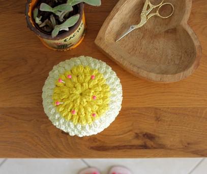 Crochet Pin Cushion Pattern - Easy Level