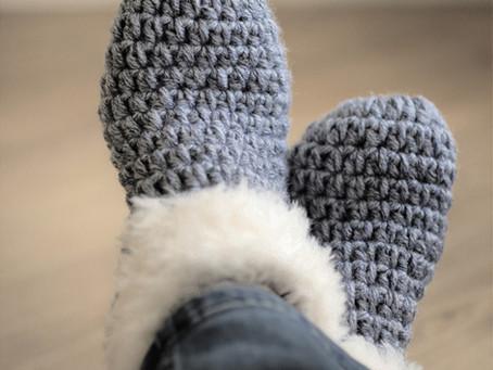 נעלי בית חצאיות מידות 37-42 לסורגים מנוסים