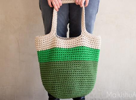 How to Crochet Easy Crochet Bag Pattern