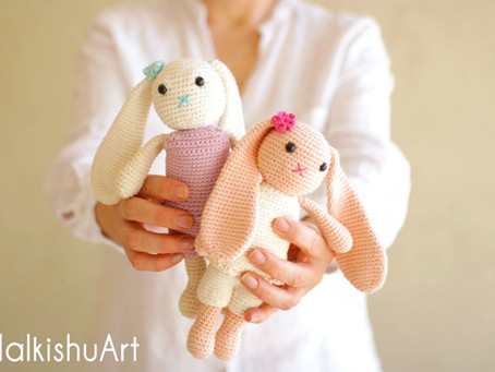 Navit the Bunny - FREE Crochet pattern - Skill Level - Intermediate