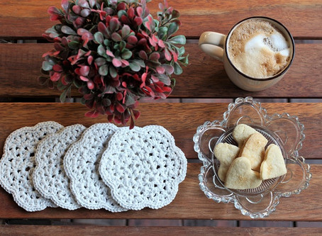 How to crochet a Coaster - FREE Video Pattern