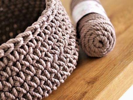Crochet Round Basket FREE Video Tutorial - Easy Level