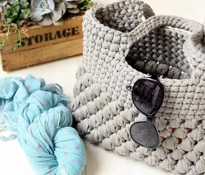 Thick Yarn Crochet Bag Pattern -Intermediate Level