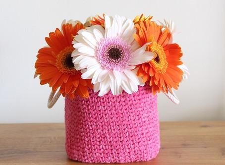 Crochet Rectangular Basket FREE Pattern
