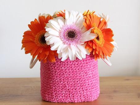 Crochet Rectangular Basket Pattern - Intermediate Level