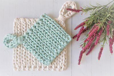 Crochet Pot Holder Pattern - Easy Level