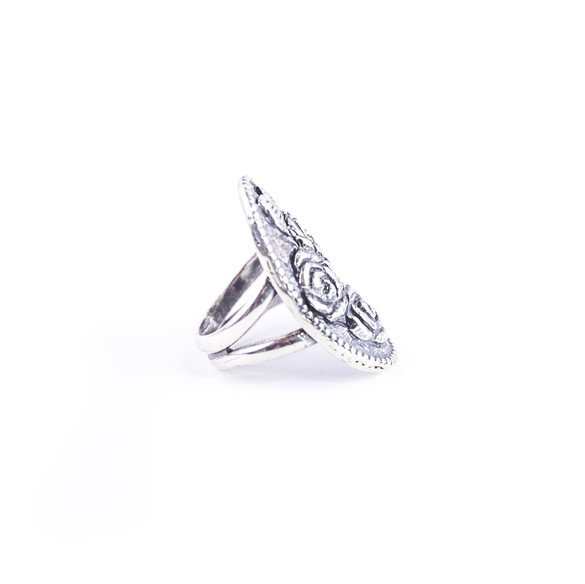 Catherine Triple Rose Ring