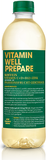 VITAMIN WELL PREPARE Pet 500ml