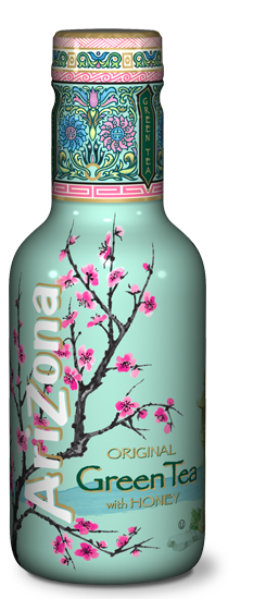 AriZona Green Tea With Honey Pet 500ml
