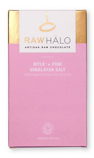 RAW HALO MYLK + PINK HIMALAYAN SALT