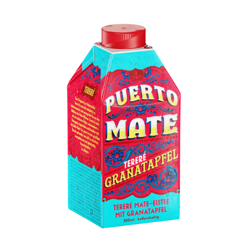 PUERTO MATE TERERÉ WITH POMEGRANATE JUICE 500ml