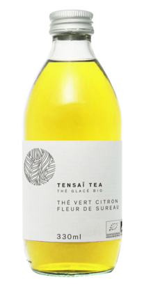 TENSAI TEA THÉ VERT CITRON Bottle 330ml