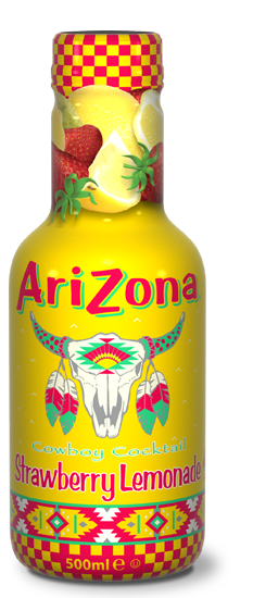AriZona Cowboy Strawberry Lemonade Pet 500ml