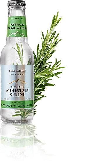 SWISS MOUNTAIN SPRING ROSEMARY TONIC WATER Bottle 200ml