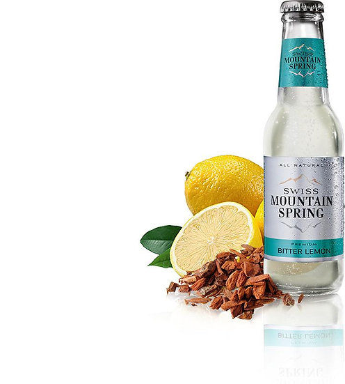 SWISS MOUNTAIN SPRING BITTER LEMON Bottle 200ml