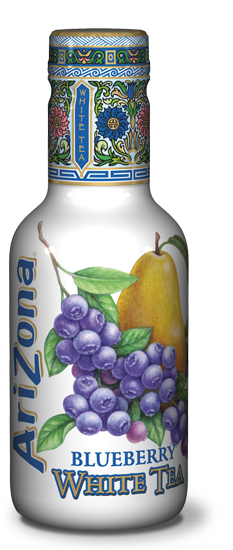 AriZona White Tea Blueberry Pet 500ml