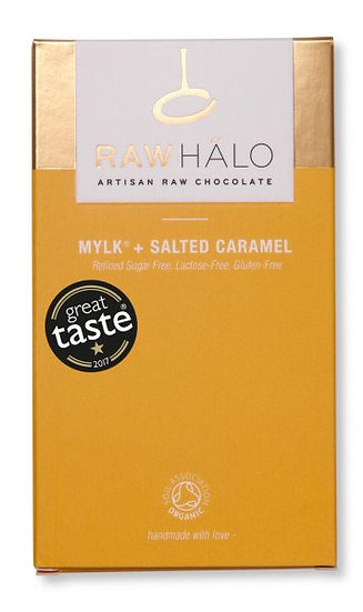 RAW HALO MYLK + SALTED CARAMEL
