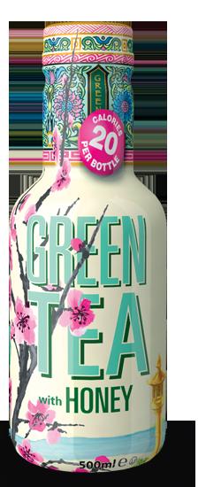 AriZona Green Tea With Honey Half Pet 500ml