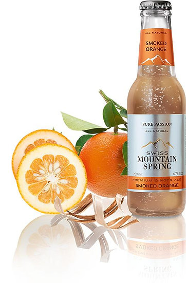 SWISS MOUNTAIN SPRING SMOCKED ORANGE Bottle 200ml