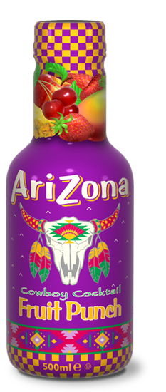 AriZona Cowboy Fruit Punch Pet 500ml