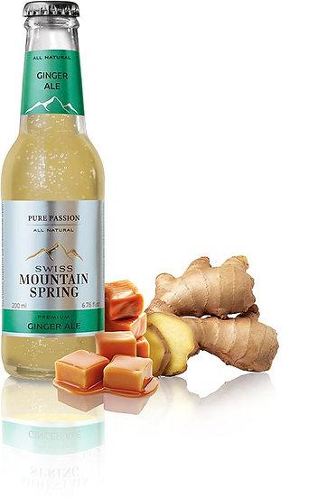 SWISS MOUNTAIN SPRING GINGER ALE Bottle 200ml