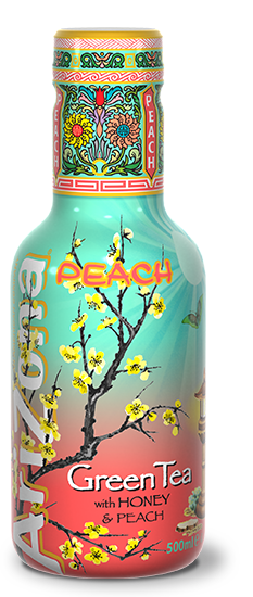 AriZona Green Tea With Honey & Peach Pet 500ml