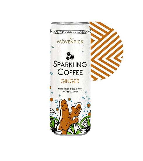 MOVENPICK SPARKLING COFFEE GINGER