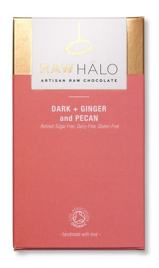 RAW HALO DARK + GINGER and PECAN