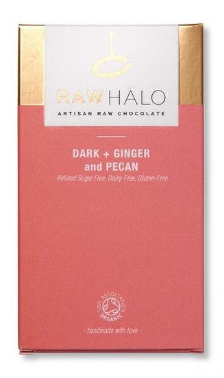 RAW HALO DARK + GINGER and PECAN