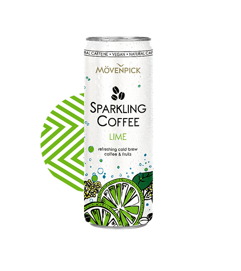 MOVENPICK SPARKLING COFFEE LIME