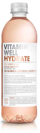 VITAMIN WELL HYDRATE Pet 500ml
