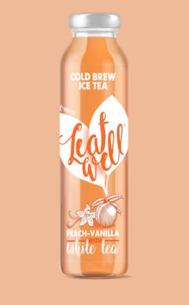 Leafwell PEACH-VANILLA Bottle 330ml
