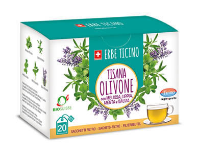ERBE TICINO Tea Bag Box Mint & Sage