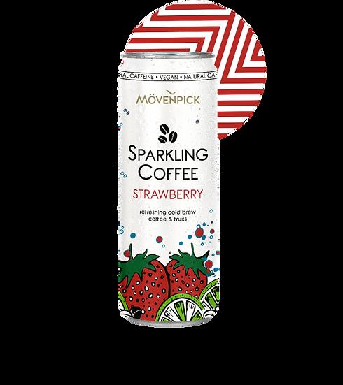 MOVENPICK SPARKLING COFFEE STRAWBERRY
