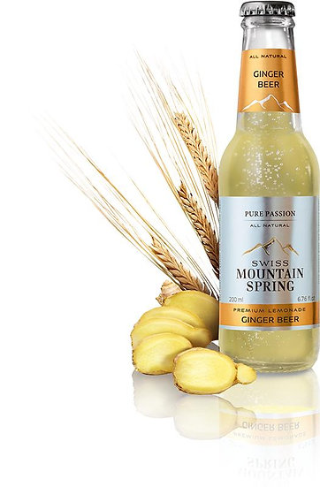SWISS MOUNTAIN SPRING GINGER BEER Bottle 200ml