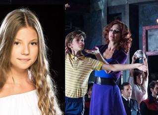 """La bailarina y cantante de Majadahonda Andrea Jiménez protagoniza con 13 años el musical """"Billy Elli"""