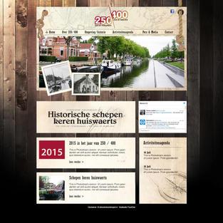 250/100 website ontwerp