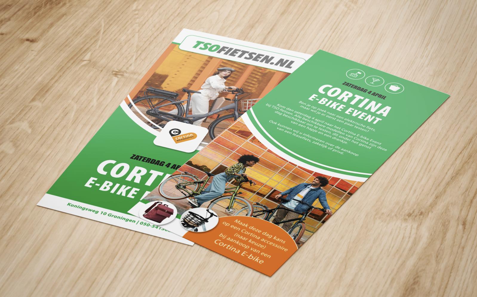 TSO flyer cortina e-bike events