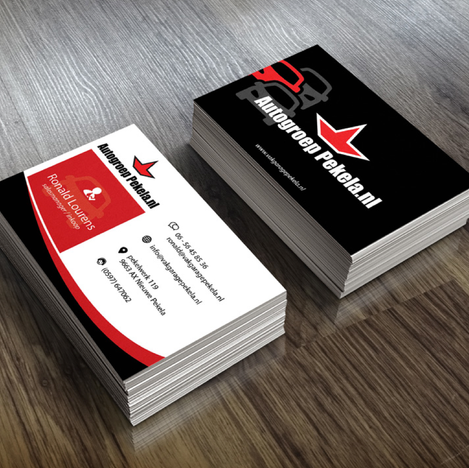 Autogroep pekela visitekaart