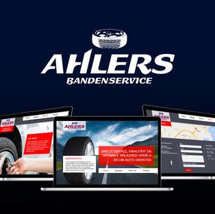 Ahlers bandenservice website