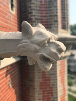 Restoration of Exterior Gargoyles